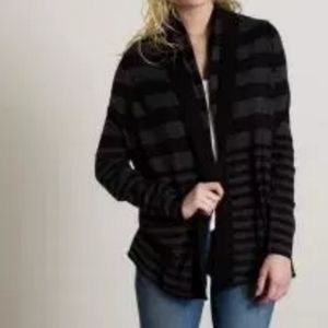 Joie Feidra Wool & Cashmere Blend Striped Cardigan